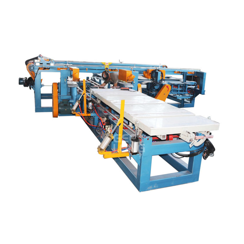 Plywood Double Cutting Saw Machine
