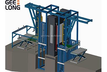 Wooden pallet production machine